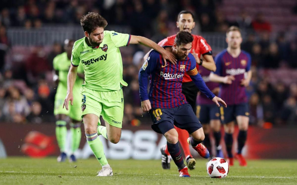 Soi kèo Levante vs Barcelona, 3h00 ngày 12/5 – Laliga