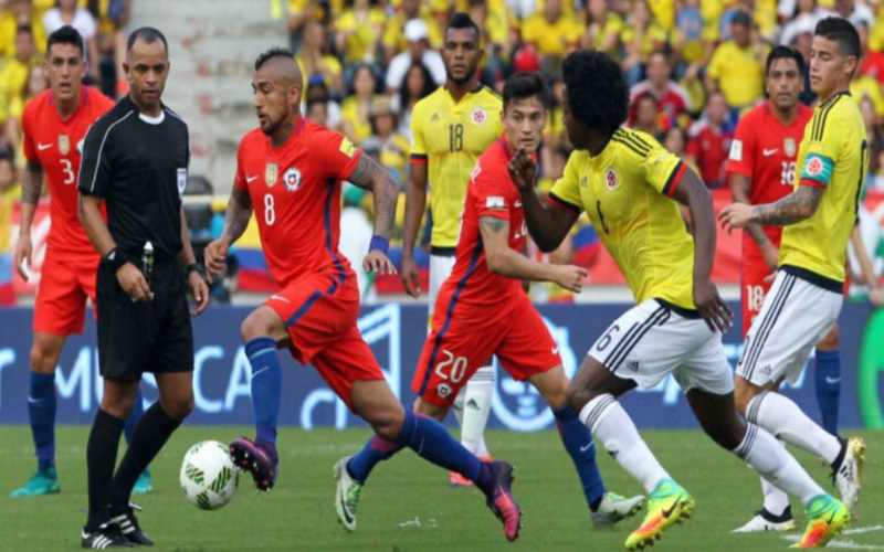 Soi kèo Colombia vs Chile, 6h ngày10/9 – World cup